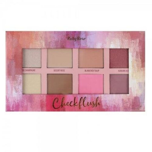 Paleta Cheek Flush HB-7507 - Ruby Rose