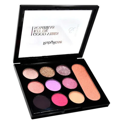 Mini Paleta de Sombras Good Vibes HB-1031 - Ruby Rose