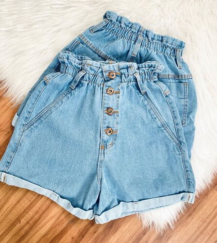 Short Clochard Jeans